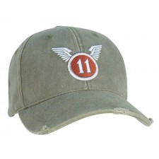 Rothco-9487 VINTAGE OD -39-39;11TH AIRBORNE-39-39; LOW PROFILE CAP